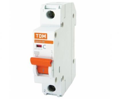 Автоматические выключатели  TDM