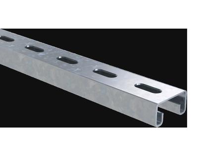 Профиль нержавеющий С-образный 41х21, L3000 mm