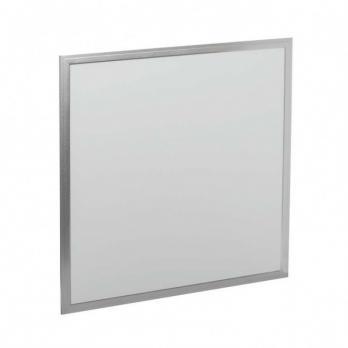 Ультратонкая светодиодная панель ЛП 02 595х595, 3200 лм 40 Вт 4000 К хром, без драйвера, Народная
